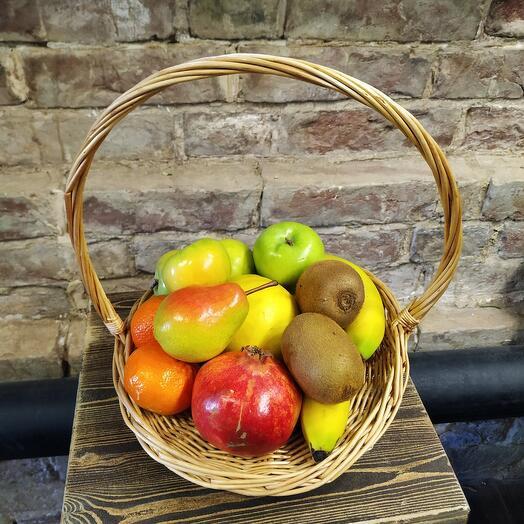 Корзина 2 с фруктами
