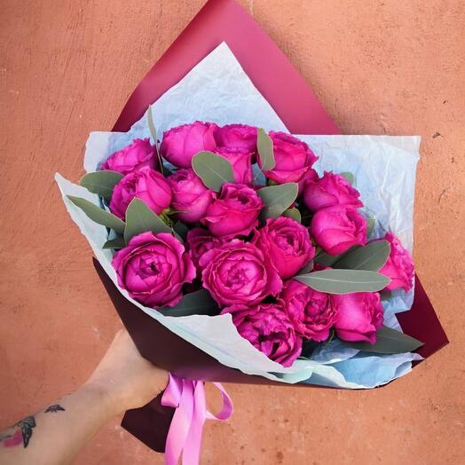 7 Сортовых пионовидных роз