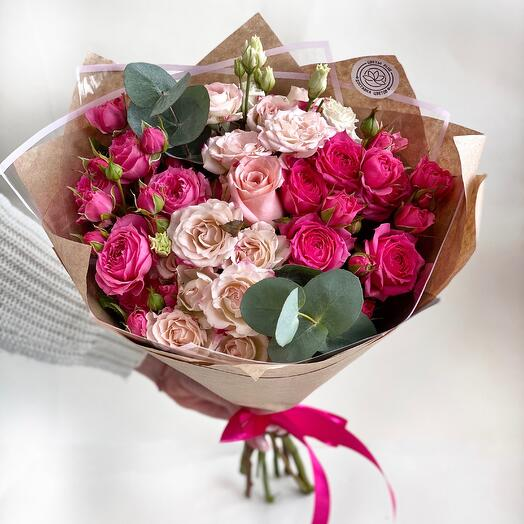 """Bouquet """"For your beloved"""""""