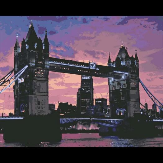 Картина по номерам London Bridge