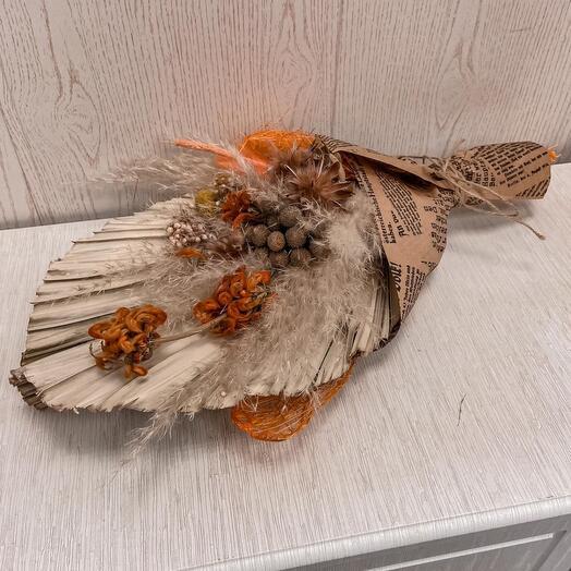 Букет из сухоцветы