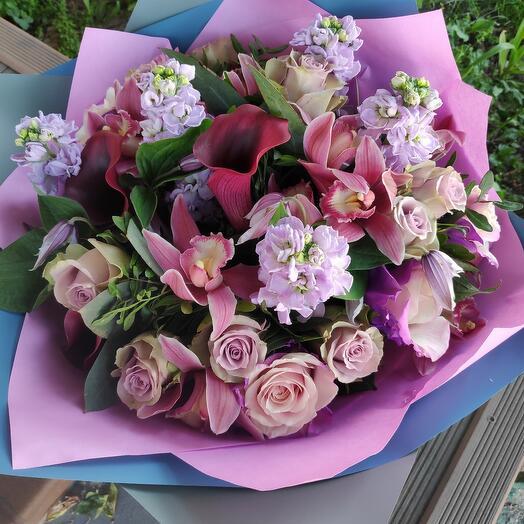 Букет цветов Спелая Слива