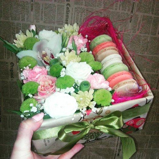 Коробочка N1: букеты цветов на заказ Flowwow