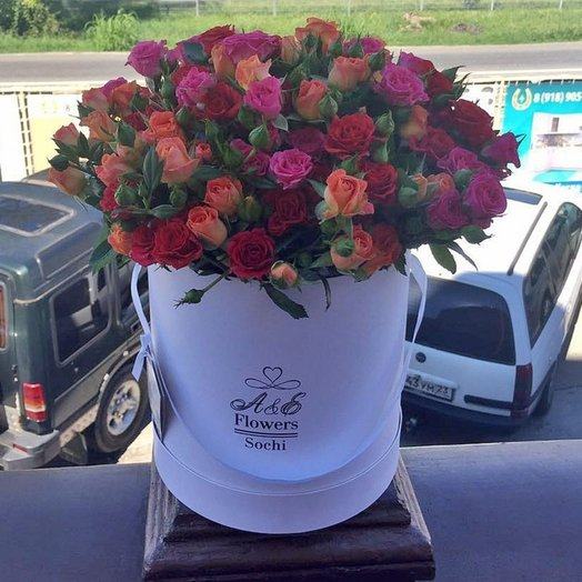 Композиция Трио: букеты цветов на заказ Flowwow
