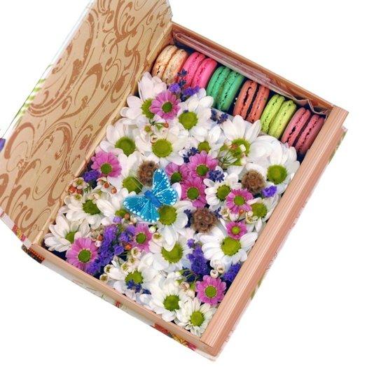 Коробка Романтик: букеты цветов на заказ Flowwow
