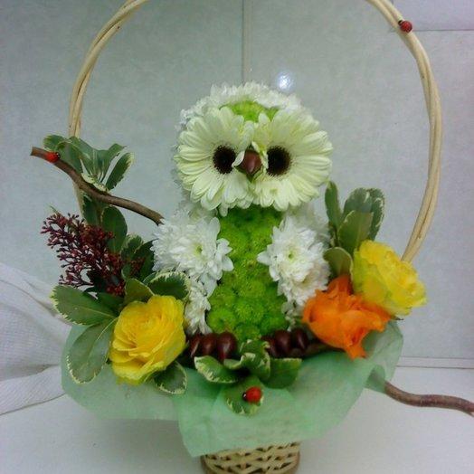 Игрушка Совушка: букеты цветов на заказ Flowwow