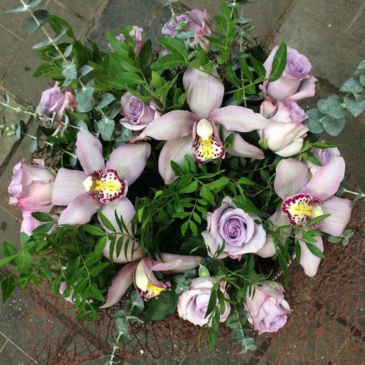 Букет Лило: букеты цветов на заказ Flowwow