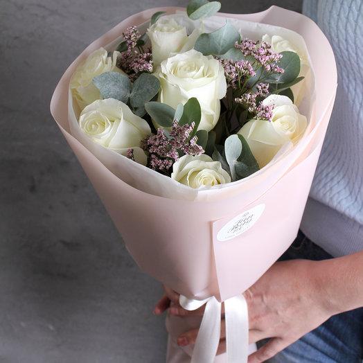 Букет «Подснежник»: букеты цветов на заказ Flowwow