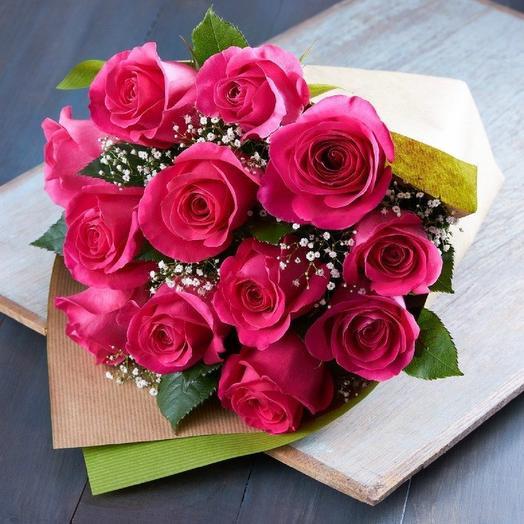 Бкет из 13 роз