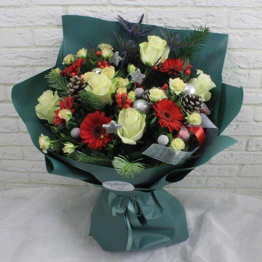 Рождественская фантазия: букеты цветов на заказ Flowwow