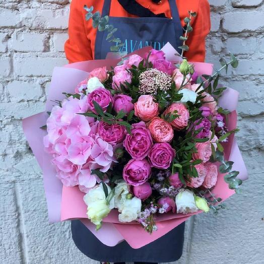 """Букет """"Розовый Бум"""": букеты цветов на заказ Flowwow"""