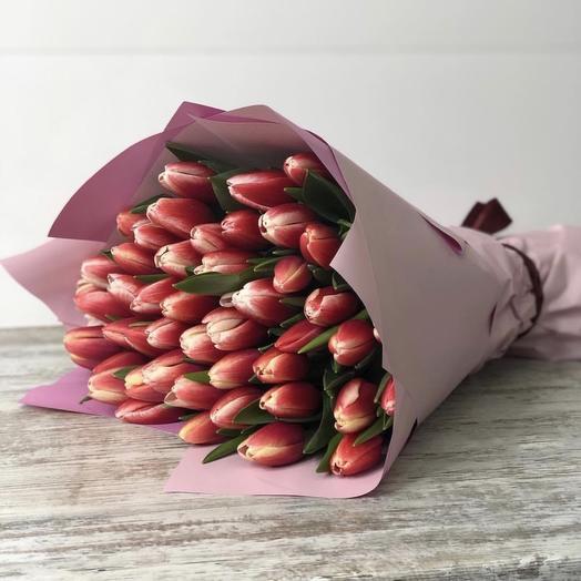 Улыбка милой: букеты цветов на заказ Flowwow