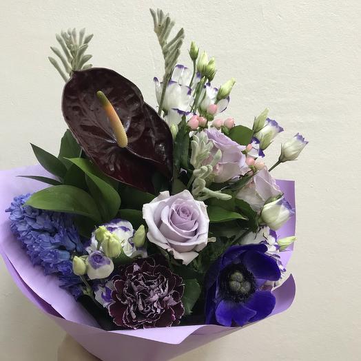 Лавандовый бриз: букеты цветов на заказ Flowwow