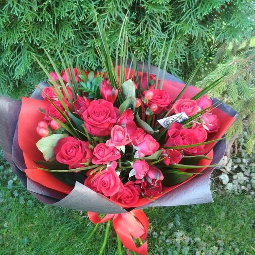 Танго: букеты цветов на заказ Flowwow