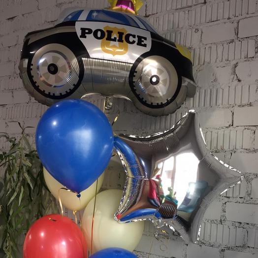 Супер полицейский: букеты цветов на заказ Flowwow