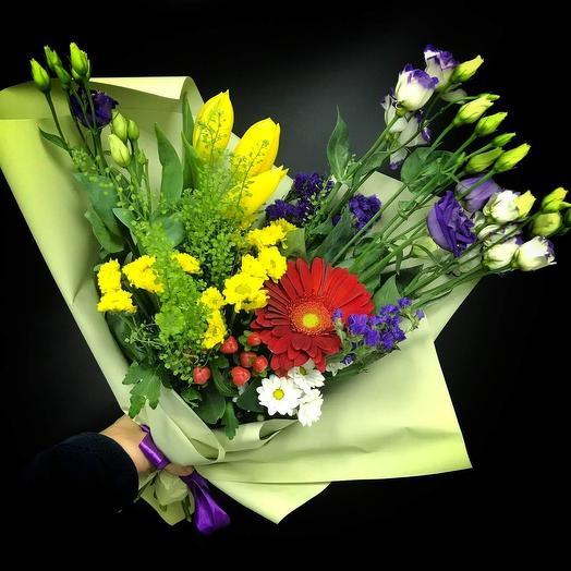 Зелёное счастье: букеты цветов на заказ Flowwow