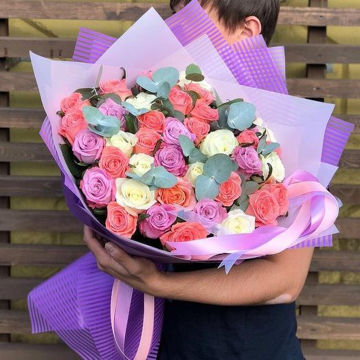 Mix Roses: букеты цветов на заказ Flowwow