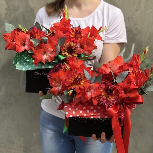 Яркое пламя 🔥: букеты цветов на заказ Flowwow