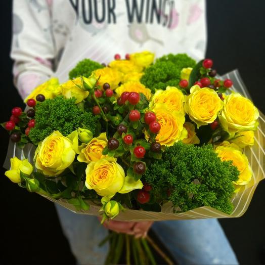 Гиперикум: букеты цветов на заказ Flowwow