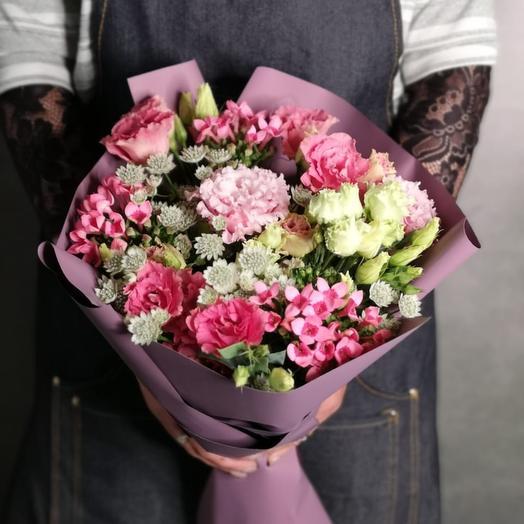 """Букет цветов """"Романтическое настроение"""": букеты цветов на заказ Flowwow"""