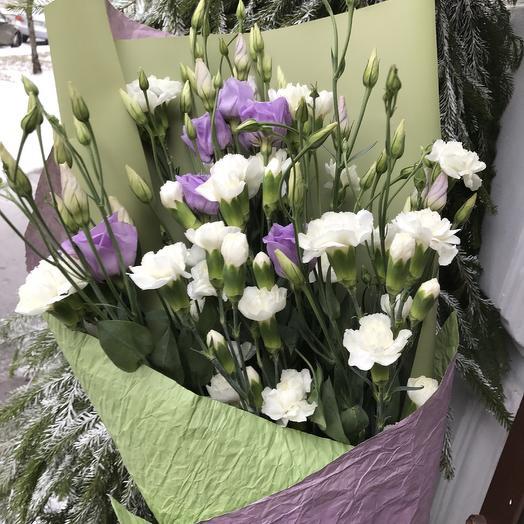 Первый снег: букеты цветов на заказ Flowwow