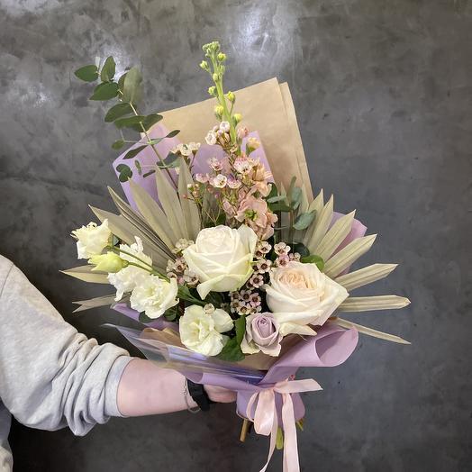 Букет «Лили»: букеты цветов на заказ Flowwow
