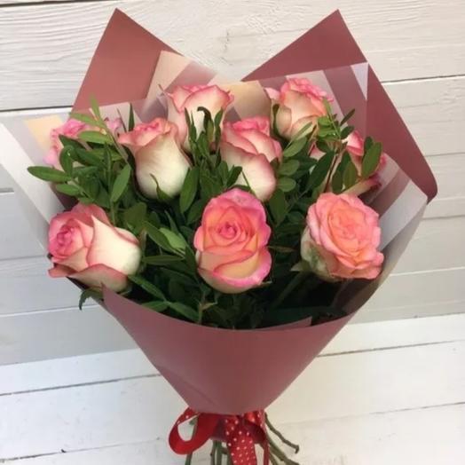 Букт 11 роз: букеты цветов на заказ Flowwow