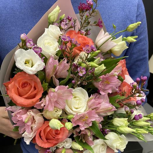 Музыка счастья: букеты цветов на заказ Flowwow