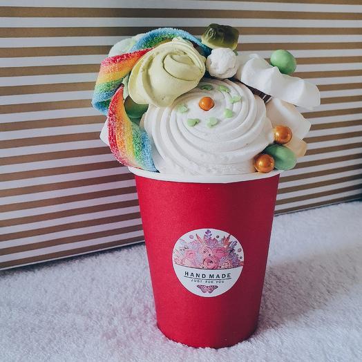 Сладкий стаканчик 1: букеты цветов на заказ Flowwow