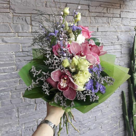 Евро-букет 4: букеты цветов на заказ Flowwow