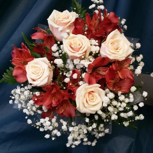 Не дорогой букет невесты