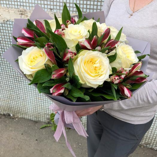 Букет Улыбка: букеты цветов на заказ Flowwow