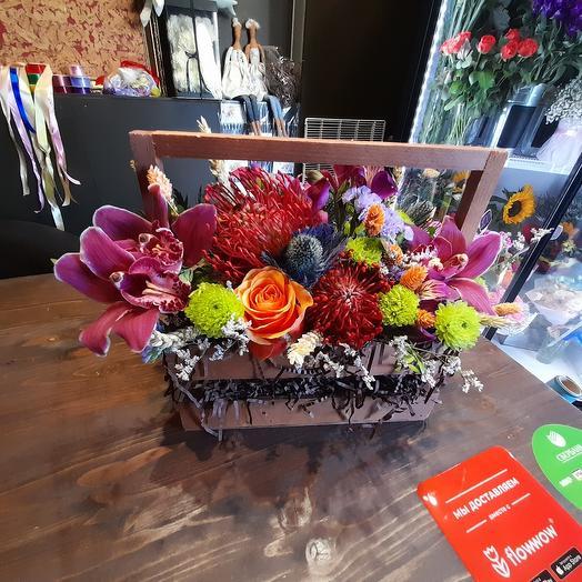 Экзот 2: букеты цветов на заказ Flowwow