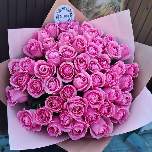 51 роза пионовидная роза