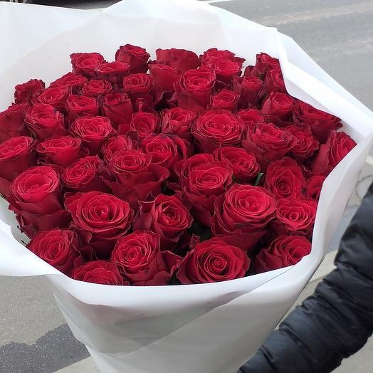 Красная роза 51