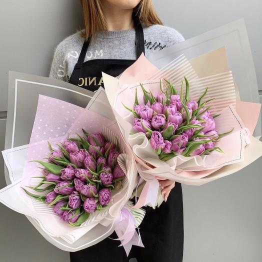 25 тюльпанов в оформление