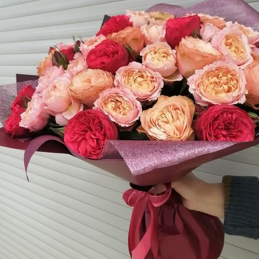 Микс розовый
