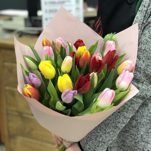 """Букет """"25 тюльпанов"""""""