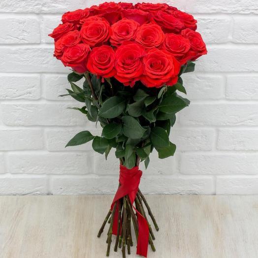 25 роз красных Эквадор