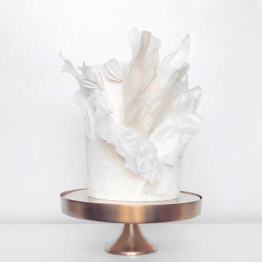 Свадебный белый торт 4 кг