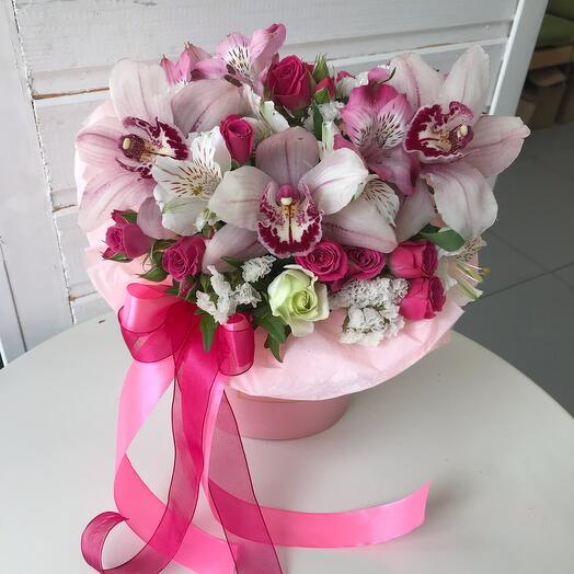 Сумочка с орхидеями