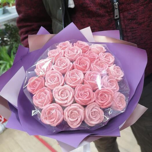 21 шоколадных роз