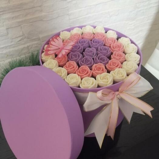 Шоколадные розы-4
