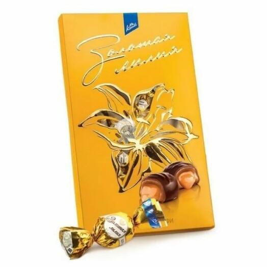 Конфеты золотая лилия