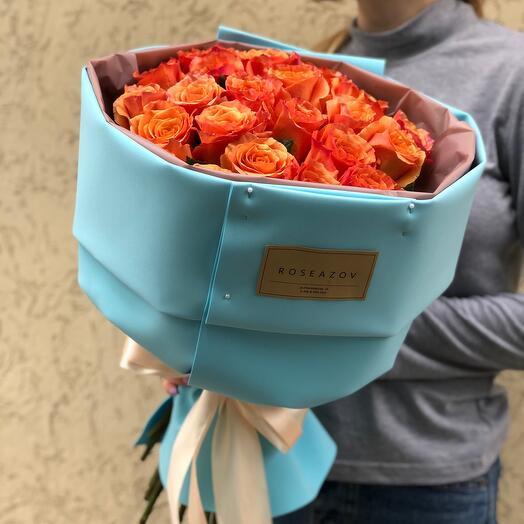 Букет роскошных роз