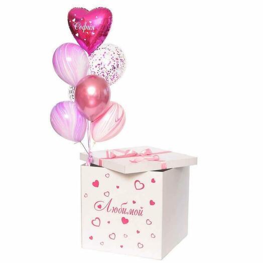 Коробка сюрприз для Неё