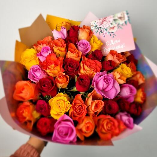 Дарите розы охапками🌹️