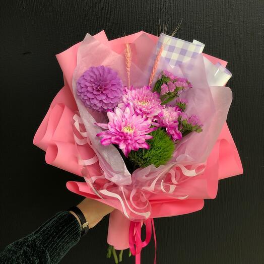 Комплимент розовый