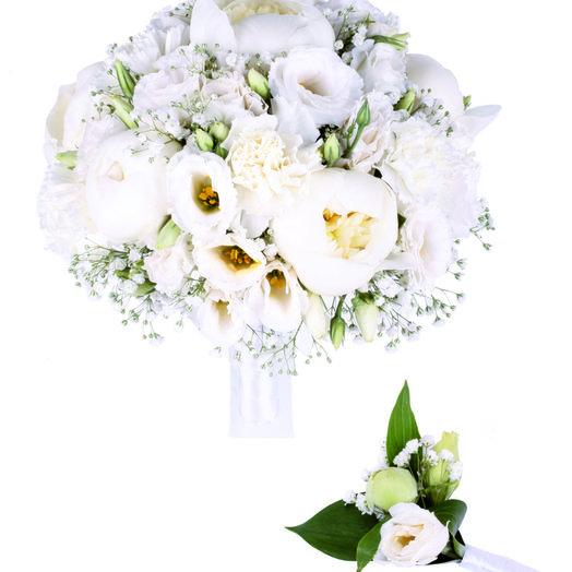Белоснежная мечта: букеты цветов на заказ Flowwow