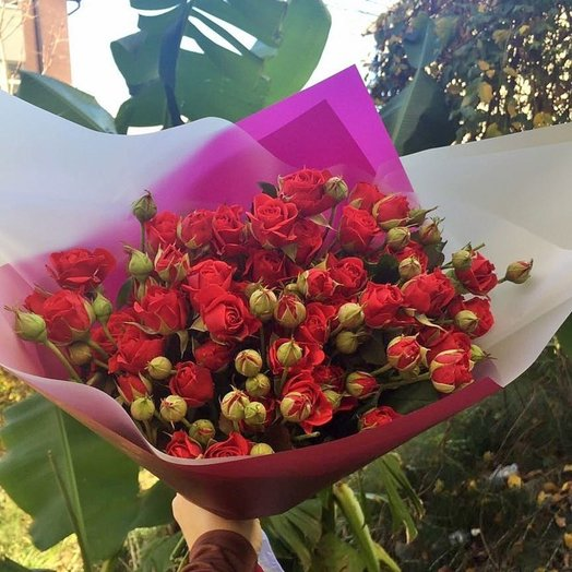 Композиция Катрин: букеты цветов на заказ Flowwow
